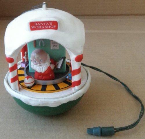 Santa's Workshop Christmas Tree Ornament