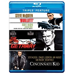 Bullitt / Cincinnati Kid / Getaway [Blu-ray]