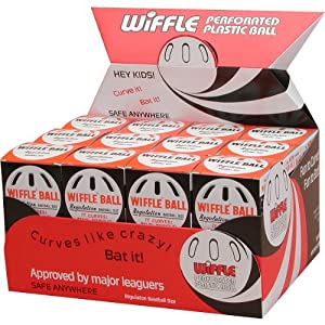 Buy TWO DOZEN Original Wiffle Brand Baseballs - Regulation Baseball Size (24 Total) by Wiffle