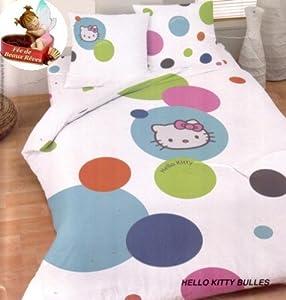 Liste d 39 anniversaire de amandine s nappe parure housse - Parure de lit hello kitty 2 personnes ...