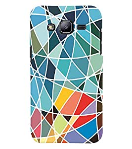 GADGET LOOKS PRINTED BACK COVER FOR Samsung Galaxy J2 MULTICOLOR