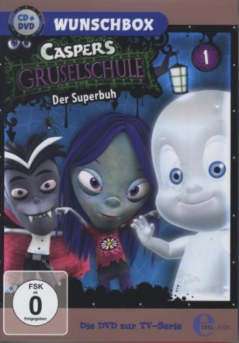 Casper's Gruselschule - Der Superbuh - Wunschbox  (+ CD) [Edizione: Germania]