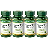 Nature's Bounty Green Tea Extract, 315mg, 400 Capsules (4 X 100 Count Bottles) (Tamaño: Pack of 4)