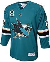 Reebok San Jose Sharks Joe Pavelski #8 Youth (8-20) Replica Home Jersey