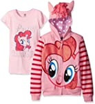 My Little Pony Girls' Pinky Pie Hoodi...