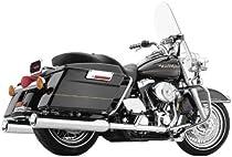 Cobra True Dual Chrome Head Pipes for 1995-2006 Harley Davidson FL Touring Mode