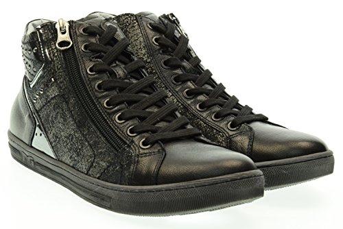 NERO GIARDINI donna sneakers alte A616040D/100 39 Nero