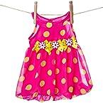 Dot Chiffon Bubble Dress