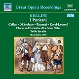 ベルリーニ:歌劇「清教徒」(カラス/ディ ステーファノ)(1953)
