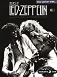 Various Play Guitar With The Best Of Led Zeppelin Volume 1 Book + 2 Cds (Play Guitar With Book & CD)