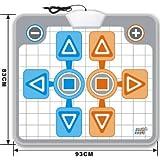 echange, troc Tapis de danse pour Nintendo Wii - Duo, 1 ou 2 joueurs - Compatible Family Trainer Mat, Dance Dance Revolution
