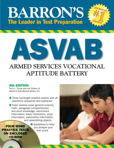 Barron's ASVAB with CD-ROM (Barron's ASVAB (W/CD))