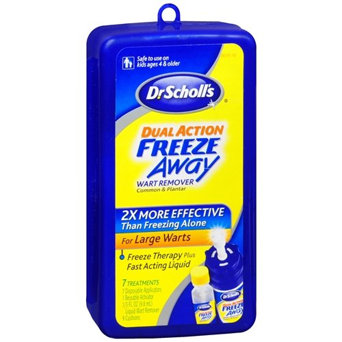 Dr. Scholl's Dual Action Freeze Away Wart Remover 1 kit (Freeze Away Wart compare prices)