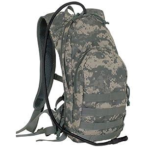 Fox Outdoor Compact Modular Hydration Backpack, Army Digital 56-357