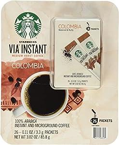 Starbucks VIA Instant Medium Roast Colombia Coffee from Starbucks