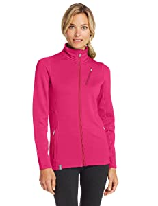 Icebreaker Damen Jacke Cascade Long Sleeve Zip, Magenta, S, 100544