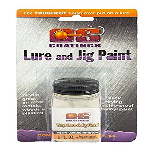 Component Systems DRMS-210 Vinyl Lure and Jig Paint, Clear (Cs Jig Paint compare prices)