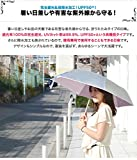 FIELDOOR 折りたたみ日傘 親骨50cm 【オフホワイト】 (UVカット/UPF50+/遮光/遮熱加工/エッジライン)