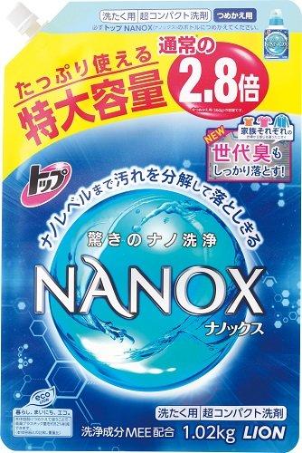 トップ NANOX(ナノックス) 特大 つめかえ用 1,020g