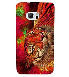Bengal Tiger Panther Cheeta 3D Hard Polycarbonate Designer Back Case Cover for HTC One M10 :: HTC M10