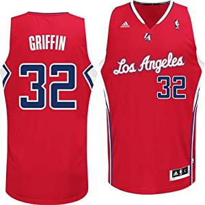 Blake Griffin #32 Los Angeles Clippers NBA Youth Swingman Road Jersey Red by adidas