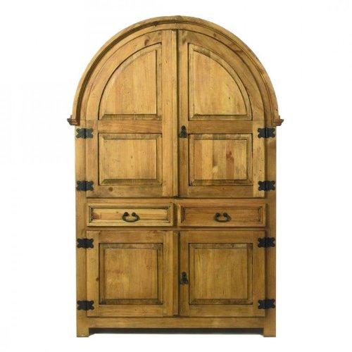 Wohnzimmer rundbogenschrank siesta pinie massivholz - Home24 schrank ...