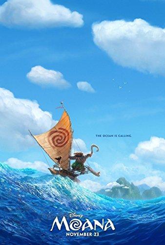 US版ポスター モアナと伝説の海 MOANA ディズニー #1 69×101cm 両面印刷 D/S [並行輸入品]