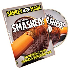 Smashed (With US Coin) by Jay Sankey by Sankey Magic