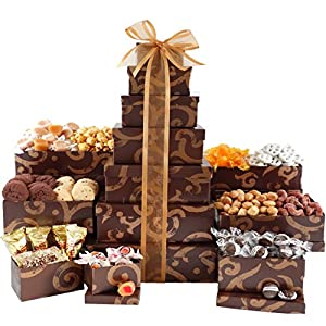 Broadway Basketeers Thinking of You Gift Tower (Kosher)