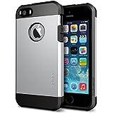 Spigen Tough Armor Coque pour iPhone 5/5S Satin Silver