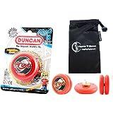 Duncan Proyo Yo Yo (Red) Pro String Trick Yo Yos With Travel Bag! Pro Yo Yos For Kids And Adults