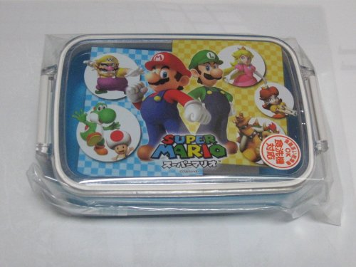 Japanese Mario Microwavable Bento Lunch Box #1715