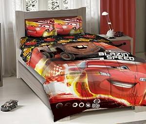 Disney Cars Blazing Speed Full Bedding Comforter Set