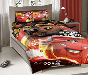 disney cars blazing speed twin bedding comforter set home