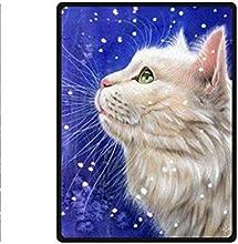 Wenglee Cat Fleece Throw Blanket 58quot x 80quot