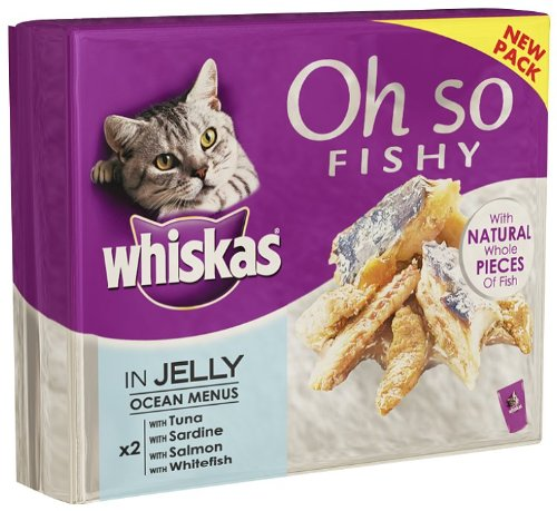 whiskas-cat-food-oh-so-fish-jelly-8-x-85-g-pack-of-5-total-40-pouches