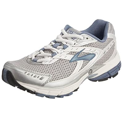 Brooks Women's Summon Running Shoe White/Silver/Light Blue