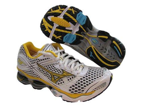 Mizuno Wave Creation 13 Womens Size 7 White Mesh Running Shoes