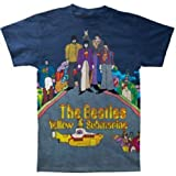 Bravado Men's Beatles Sub Dye Sublimination T-Shirt