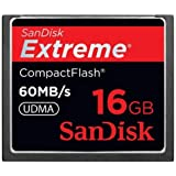 SanDisk Extreme - Flash memory card - 16 GB - 400x - CompactFlash
