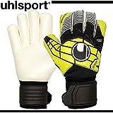 uhlsport(ウールシュポルト) サッカー ゴールキーパー グラブ エリミネーター ソフト ロールフィンガー ブラック×ライムグリーン×ホワイト 1000179 1