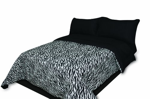 Navy And White Striped Bedding 3441 front