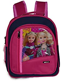 Ideal® Cartoon Printed 10 Litres Pre School Kids Backpack (For Girls)