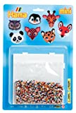Hama Mini Beads Animal Faces Kit