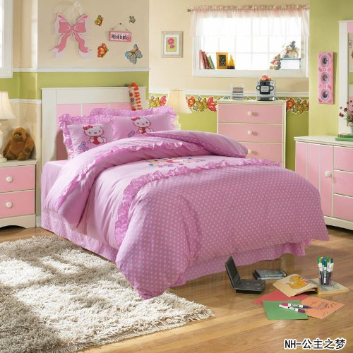 Queen Size Princess Bedding 7669 back