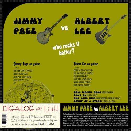 Jimmy Page Vs. Albert Lee (Lp+CD)