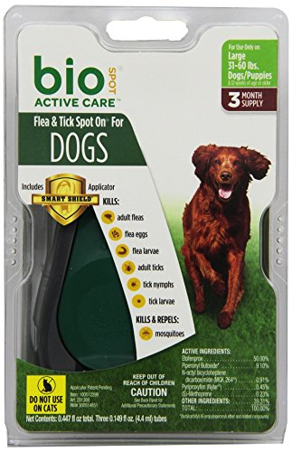 bio-spot-active-care-flea-tick-spot-on-with-applicator-for-large-dogs-31-60-lbs-3-month-supply