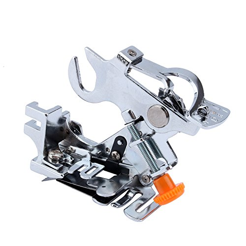 Yosoo Ruffler Sewing Machine Presser Foot for All Low Shank Singer Brother, Babylock,new Home, Janome, Kenmore, Bernina, Bernette Pfaff Husqvarna Juki Feet for Gathering, Pleats and Ruffles (Ruffling Foot Brother compare prices)