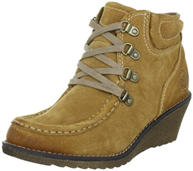 Marco Tozzi 25133-29 Womens Suede leather, camel, Size 40 EU