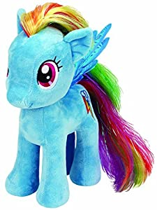 TY Beanie Baby–My Little Pony Soft Toy–Rainbow ty90211 from Ty
